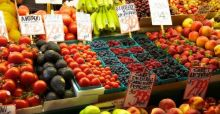Groente en fruit op recept in New York