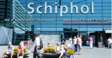 Naar Schiphol met de taxi